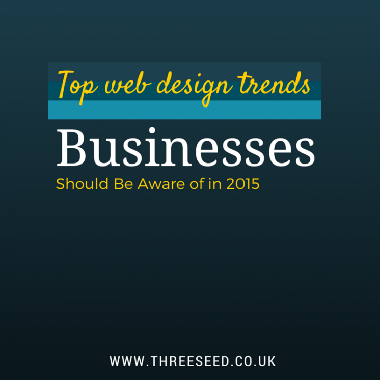 Business Web Design trends in 2015